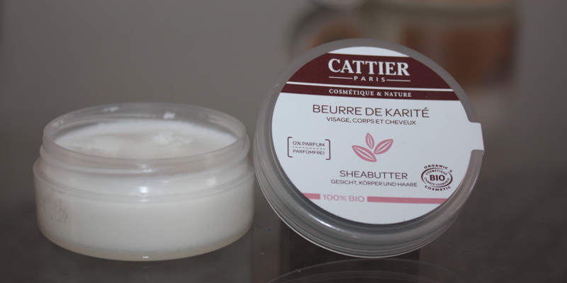 Cattier Paris Sheabutter 100 % biologisch