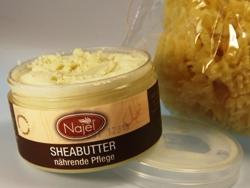 Reine Sheabutter für meine natürliche Hautpflege